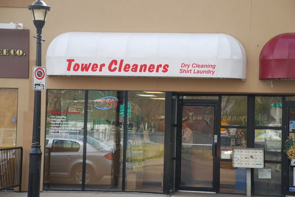 Kensington Tower Cleaners store. #4, 338 - 10 St NW, Calgary, Alberta, (403) 270-7751